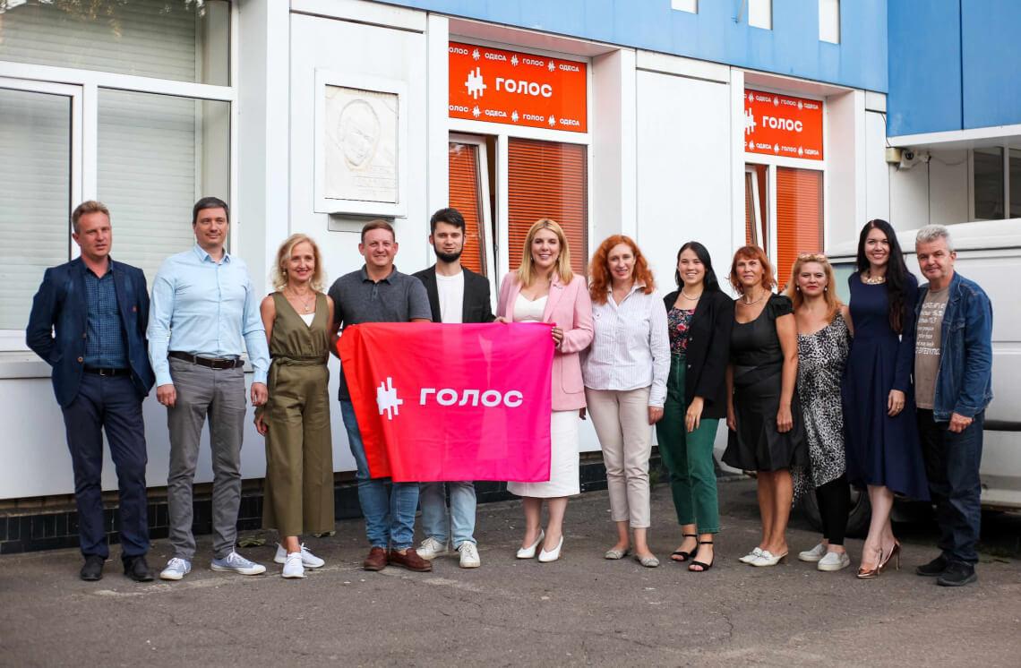 В Одесі відкрилася громадська приймальня лідерки «Голосу» Кіри Рудик