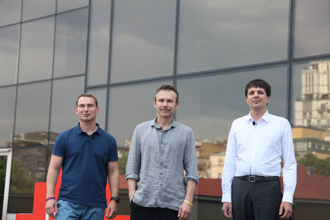 Святослав Вакарчук представив ще двох членів команди «Голосу»