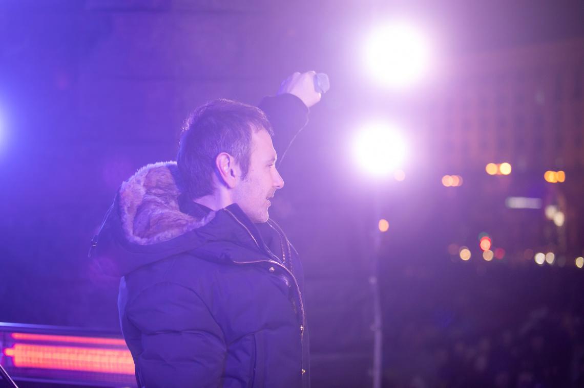 Разом ми можемо перевернути гори, — виступ Святослава Вакарчука на Майдані