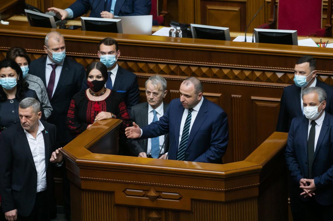 В парламенті зареєстрували першу частину законопроектів з пакета «Кримська платформа», — Рустем Умєров