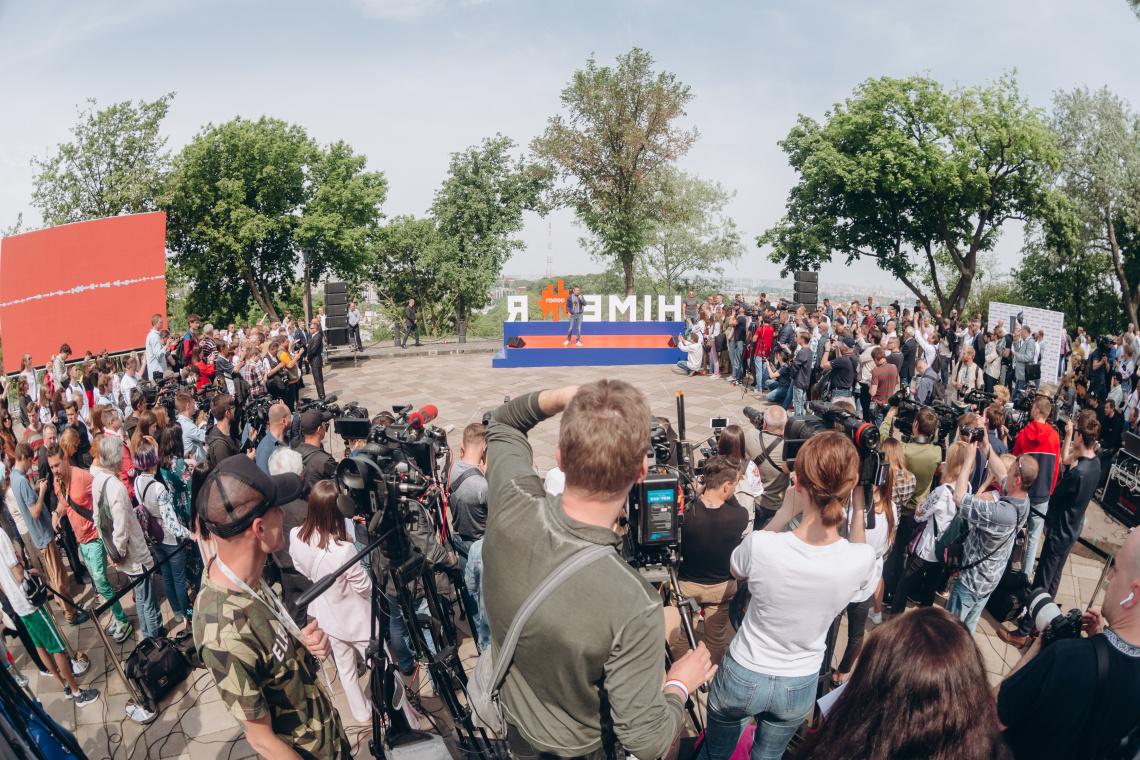 Святослав Вакарчук: партія «Голос» не буде об'єднуватись на парламентських виборах з жодними політичними брендами